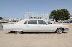 Vintage american Cadillac fleetwood limousine Stock Photography