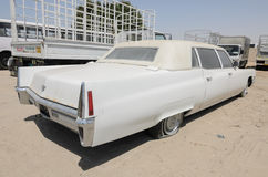Vintage american Cadillac fleetwood limousine Stock Images