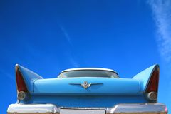 Vintage American Car 50-60 S Royalty Free Stock Photos