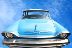 Vintage American Car 50-60's Royalty Free Stock Image