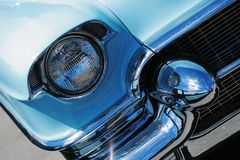 Vintage american car detail Stock Photos