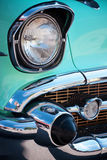 Vintage American Car Front Detail Royalty Free Stock Images