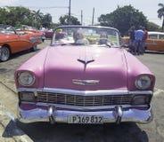 Vintage American car - Havana, Cuba royalty free stock photography