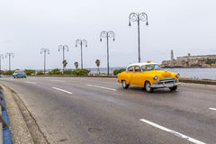 Vintage American car, Havana, Cuba Stock Photos