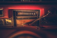 Vintage American Classic Dash Royalty Free Stock Photo
