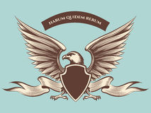 Vintage american eagle mascot icon Royalty Free Stock Photography