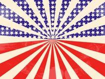 Vintage American Flag Royalty Free Stock Photo