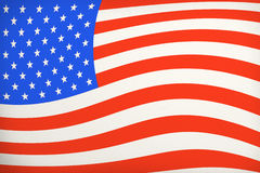 Vintage American Flag Royalty Free Stock Photo