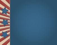 Vintage American Flag Sign Stock Images