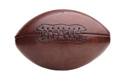 Vintage american football ball Royalty Free Stock Photos