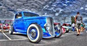 Vintage American Ford car Royalty Free Stock Image