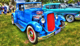 Vintage American Ford hot rod Stock Photos