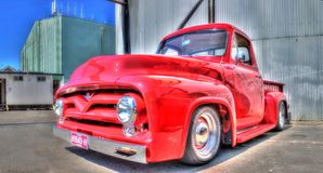 Vintage American Ford pickup truck Stock Photos