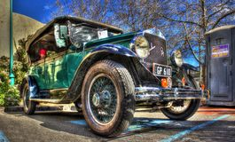 Vintage American Graham Paige motorcar Royalty Free Stock Image