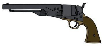 Vintage american handgun Stock Images