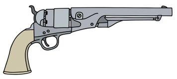 Vintage american handgun Royalty Free Stock Image