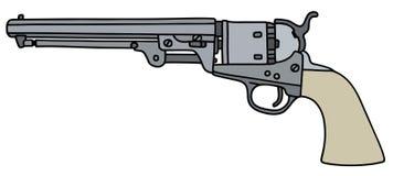 Vintage american handgun Stock Photo