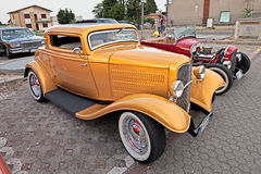 Vintage american hot rod Ford Royalty Free Stock Photo