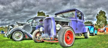 Vintage American hot rod Stock Images
