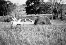 Vintage American Life - Campers Royalty Free Stock Images