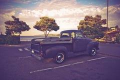 Vintage American Pickup Stock Photos