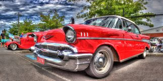 Vintage American 1950s Chevy Stock Photography