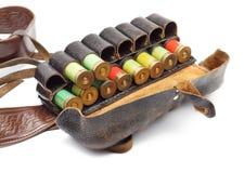 Vintage Ammunition Belt Stock Photo