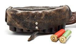 Vintage Ammunition Belt Royalty Free Stock Photography
