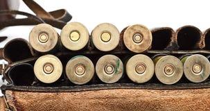 Vintage Ammunition Belt Stock Photography