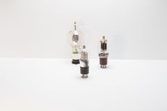 Vintage amp tubes Royalty Free Stock Photography