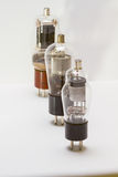 Vintage amp tubes Royalty Free Stock Photo