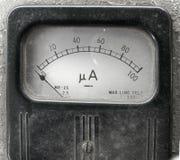 Vintage Ampere Meter royalty free stock image