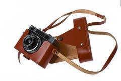 Vintage analog camera Stock Photos