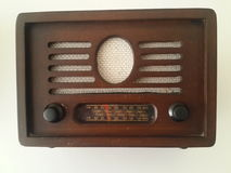 Vintage Analog Radio Royalty Free Stock Photography