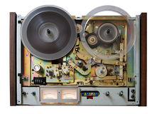 Vintage analog recorder Stock Photography