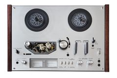 Vintage analog recorder Stock Image