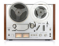 Vintage analog recorder reel to reel Stock Image