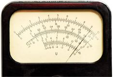 Vintage analog scale stock photography