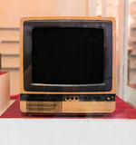 Vintage analogue television. Vintage television - old analogue TV Stock Photography