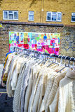 Vintage And Secondhand Market In Portobello Road In Notting Hill Stock Image