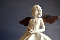 Vintage angel of peace stock image