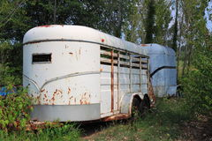 Vintage Animal Trailer Royalty Free Stock Images
