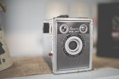 Vintage Ansco Shur Shot Stock Photo