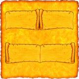 Vintage antique ancient scroll. Background stock illustration