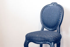 Vintage and antique black chair isolated Stock Photo