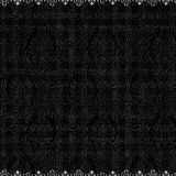 Vintage Antique black damask background Royalty Free Stock Photo