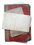 Vintage antique book Stock Image