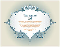 Vintage antique border Royalty Free Stock Images
