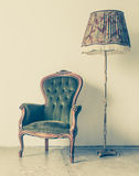 Vintage and antique chair Royalty Free Stock Image