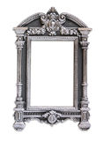 Vintage antique classical frame. isolated on white Stock Photography